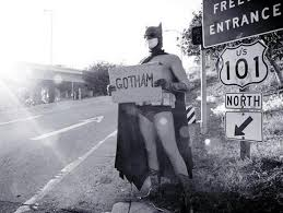 Batman_Hichhiking